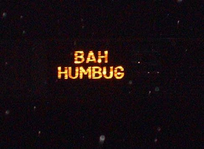 Bah Humbug Christmas Lights