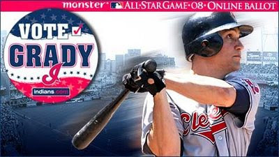 Vote for Grady Sizemore on the MLB All-Star Ballot
