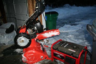 Dm 950 Snow Blower