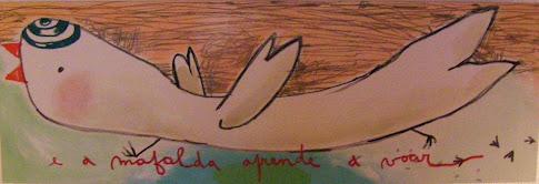"""""""Eu, a Mafalda antes de saber voar"""