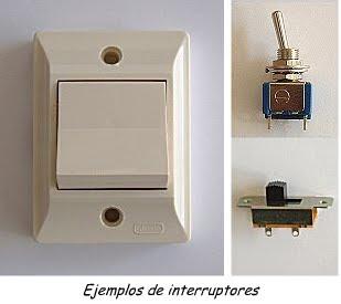 Tecnologia elementos de control - Modelos de interruptores de luz ...