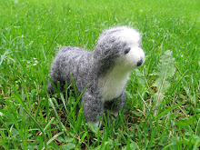 Needlefelted dog
