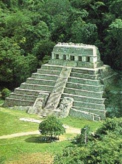 zona arqueologica Templo maya de las inscripciones palenque