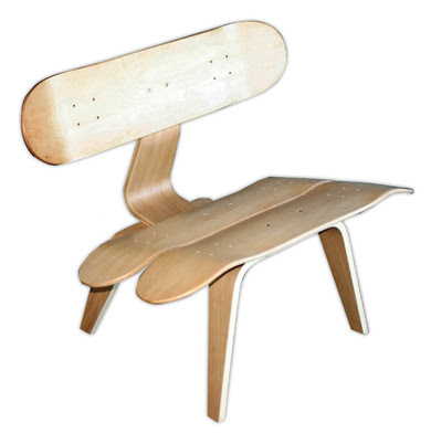 i love gadgets skateboard made furniture