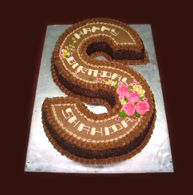S Shaped Cake Images : Balmoral Bakery: The number game