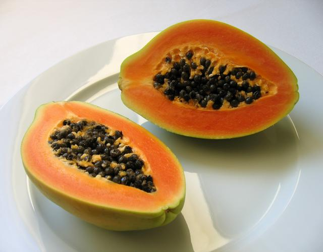 Green Smoothies with Papaya