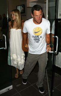Lance Armstrong & Kate Hudson