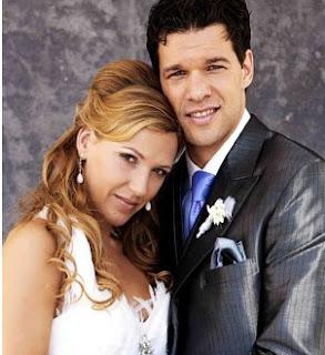 Michael Ballack And Simone Lambe