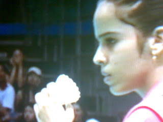 Beijing Olympics : Saina of INDIA