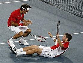 Roger Federer Winning GOLD