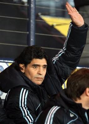 Diego Maradona : Argentina's Coach