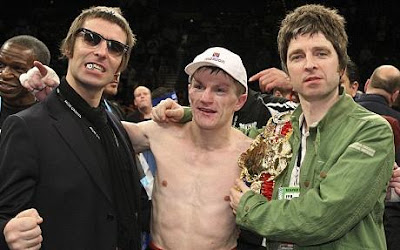 Ricky Hatton, Liam & Noel Gallagher