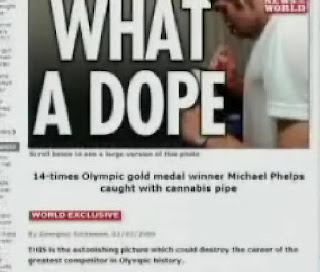 Michael Phelps Taking Marijuana