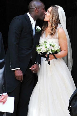Sol Campbell and Fiona Baratt Wedding
