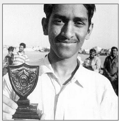 Childhood Picture of Dhoni