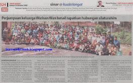 Perhimpunan Warisan Wan Ismail bin Dato' Bentara Kanan  Wan Soloh