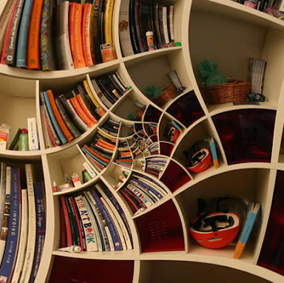 something amazing 12 amazing bookshelves