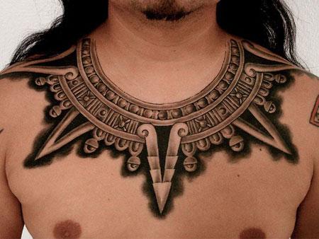 Maya Necklace Tattoo