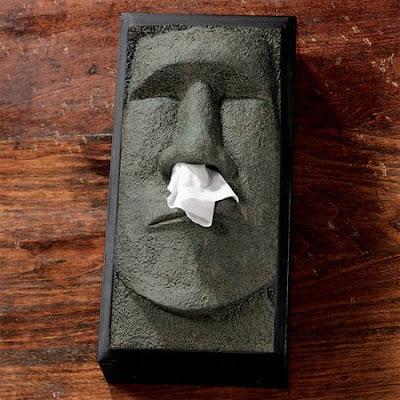 Something amazing 17 awesome and funny tissue boxes - Nose tissue dispenser ...