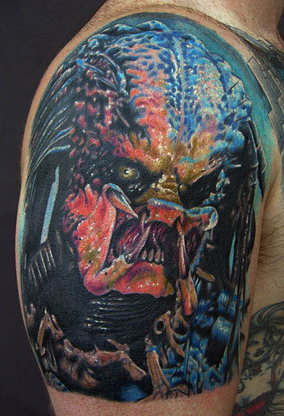10 Awesome Predator Tattoos