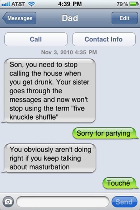 16 Crazy iPhone Text Messages