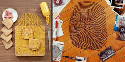 Fingerprint Art by Kevin Van Aelst Seen On www.coolpicturegallery.us