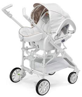 Con el bebe a cuestas: Chicco White label, el cochecito mas pijo de Chicco | Con el bebe a cuestas