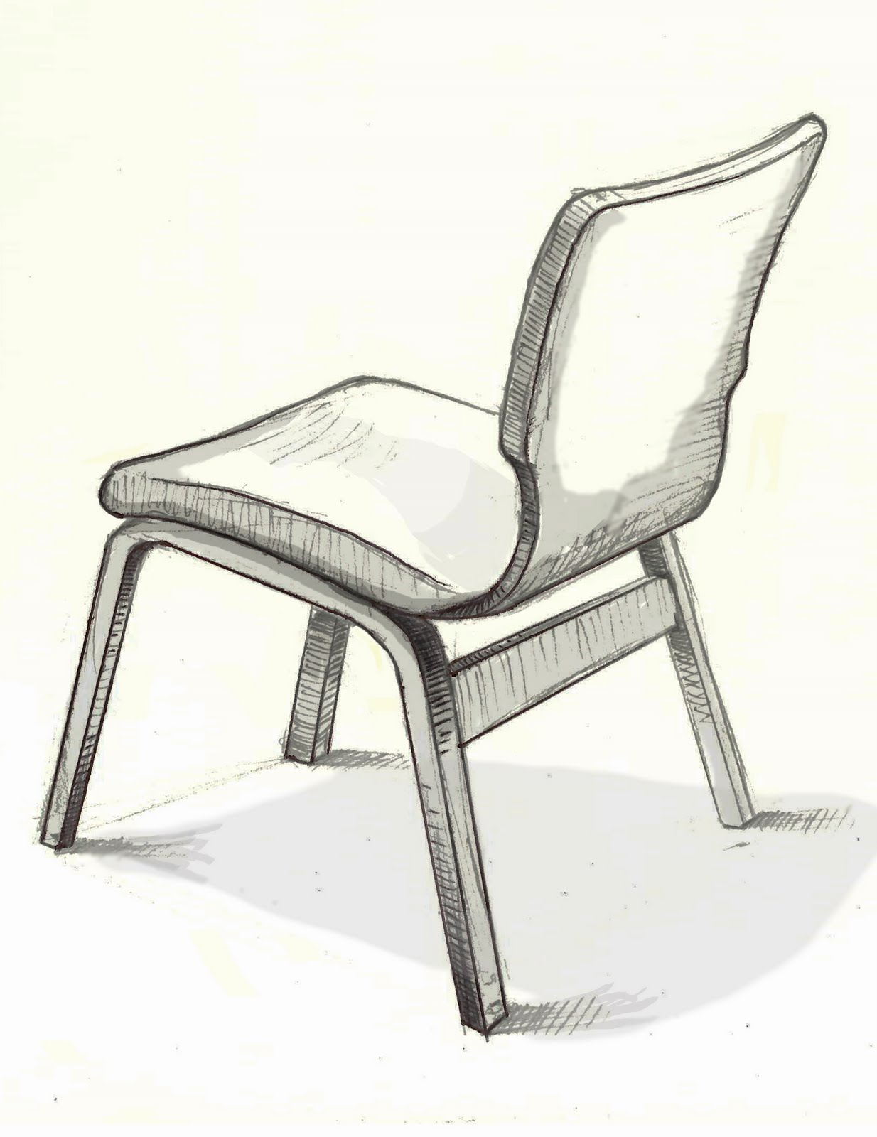 Simple Chair Sketches - Chair sketch sketches for fumco