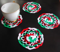 Winter Flower Coasters, on sale today