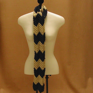 Long and skinny Zig Zag Scarf