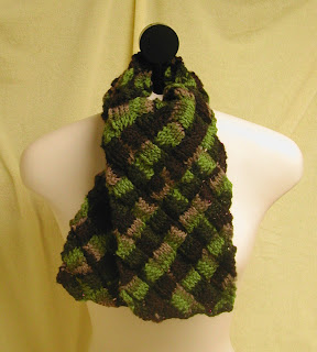 This Merino Entrelac Scarf could be your's in today's sale!