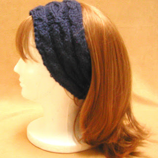 Keep your ears warm with this headband, available at www.AllThingsTangled.etsy.com