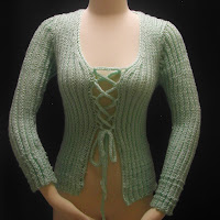 Corset Cardigan! Give a click for a better view!