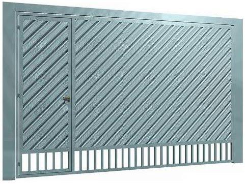 Lambri em diagonal com ventilação