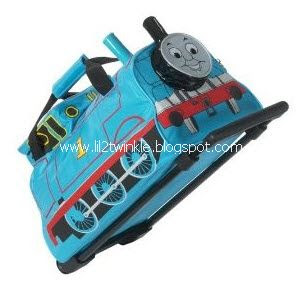 Simple Thomas u Friends Roller Trolley Luggage Bag