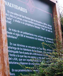 Cartel de Valvidares