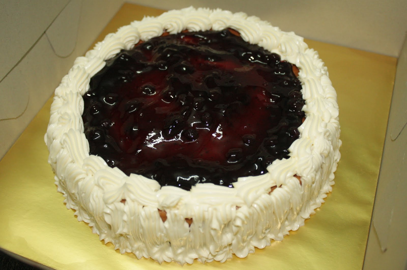Blueberry Cheesecake - order by Ms. Nabila from Jasin for makan2 ...