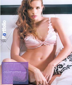 Ivana Saccani al desnudo