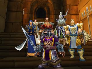screenshot uit World of Warcraft, een van de meest succesvolle online games.