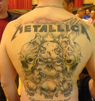 metallica tattoos. Metallica Tattoos