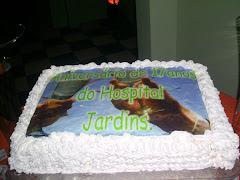 Bolo aniversário do Hospital Jardins