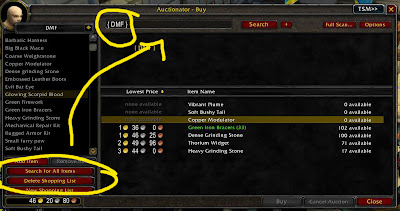 dmflist The Darkmoon Faire Guide: part 3, Vendors.