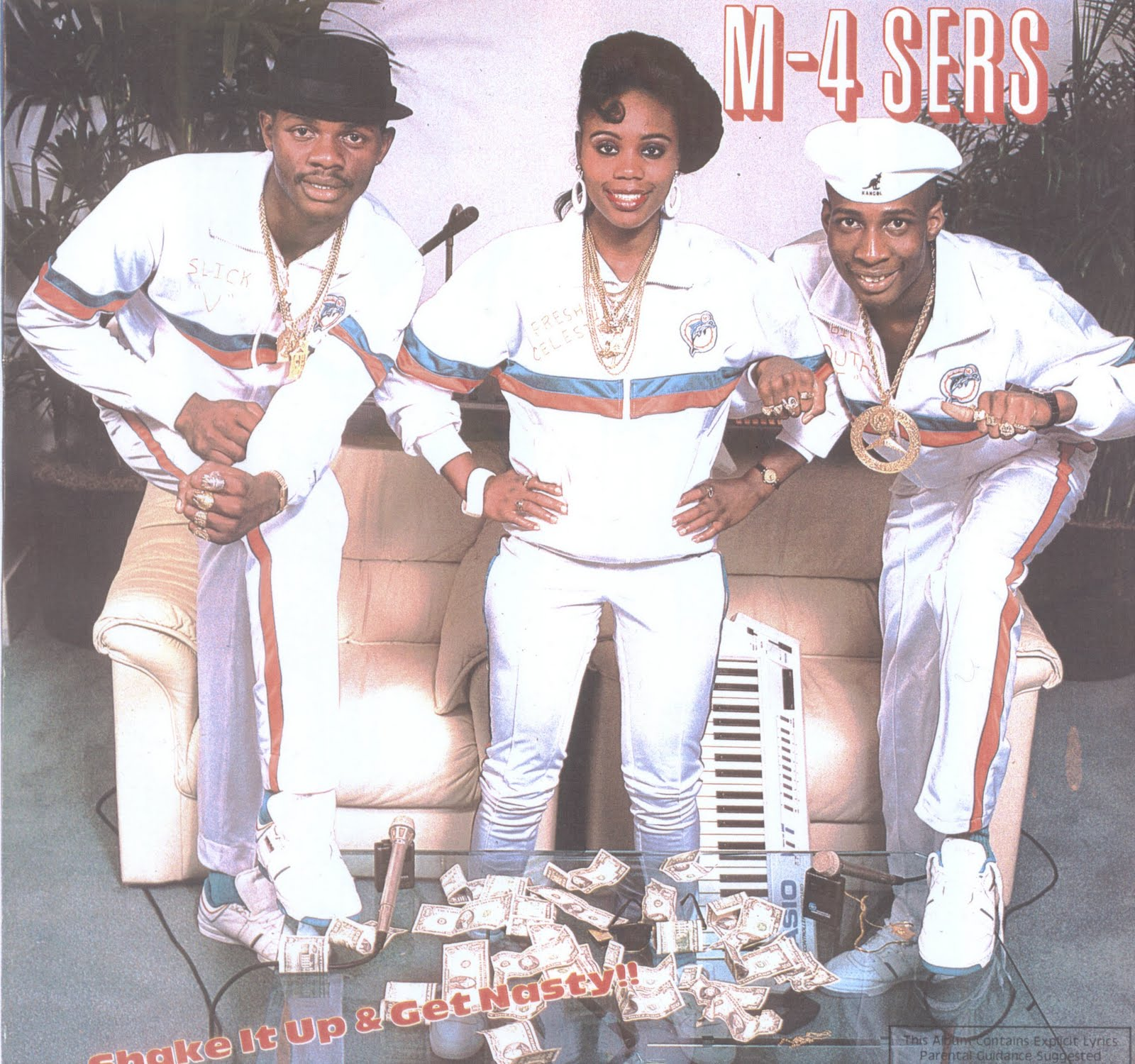 drop da bass: m-4 sers - 1988 - shake it up & get nasty!!