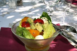salade fraicheur simplissime Verrine+fraicheur+avocat+tomates+mozza