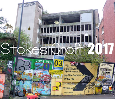 Stokes Croft ruled by robots in 2017