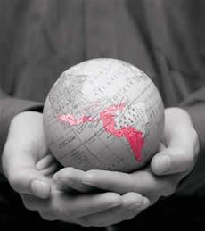 Globalização: O encurtamento das distâncias.
