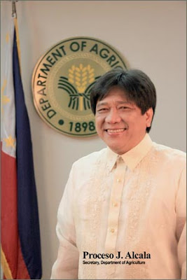 Philippine Agriculture Secretary Proceso Alcala