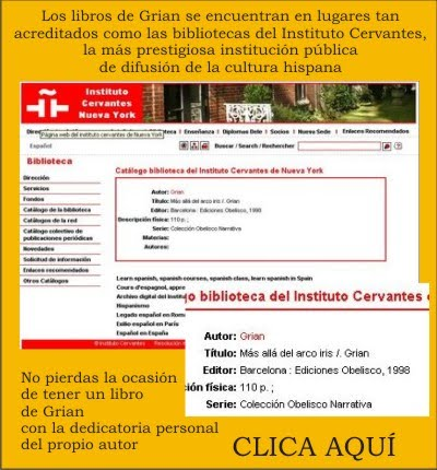 Grian en el Instituto Cervantes