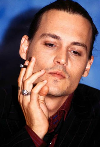 Johnny Depp Posted By I Like Men In Suits Smoking Cigarettes At 1013 PM