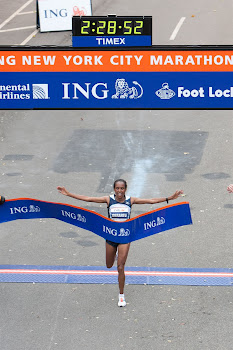 Derartu Tulu 2009 Women's Winner